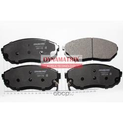 комплект колодок для дисковых тормозов (DYNAMATRIX-KOREA) DBP1735
