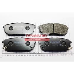 комплект колодок для дисковых тормозов (DYNAMATRIX-KOREA) DBP1736