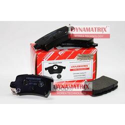 комплект колодок для дисковых тормозов (DYNAMATRIX-KOREA) DBP1862