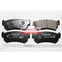 комплект колодок для дисковых тормозов (DYNAMATRIX-KOREA) DBP1889