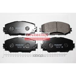 комплект колодок для дисковых тормозов (DYNAMATRIX-KOREA) DBP1891