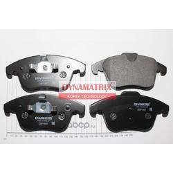 комплект колодок для дисковых тормозов (DYNAMATRIX-KOREA) DBP1897
