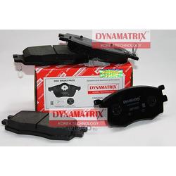 комплект колодок для дисковых тормозов (DYNAMATRIX-KOREA) DBP1955
