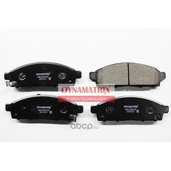 комплект колодок для дисковых тормозов (DYNAMATRIX-KOREA) DBP4023