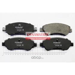 комплект колодок для дисковых тормозов (DYNAMATRIX-KOREA) DBP4066
