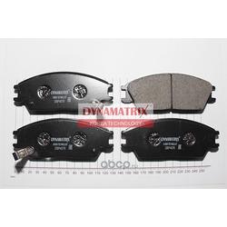 комплект колодок для дисковых тормозов (DYNAMATRIX-KOREA) DBP4076