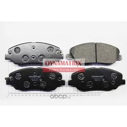 комплект колодок для дисковых тормозов (DYNAMATRIX-KOREA) DBP4111