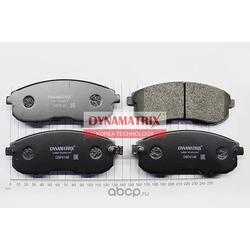 комплект колодок для дисковых тормозов (DYNAMATRIX-KOREA) DBP4148