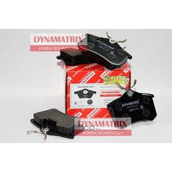 комплект колодок для дисковых тормозов (DYNAMATRIX-KOREA) DBP4178