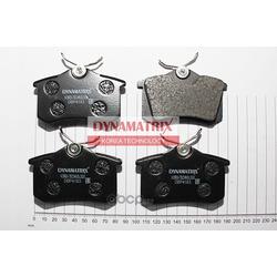 комплект колодок для дисковых тормозов (DYNAMATRIX-KOREA) DBP4183
