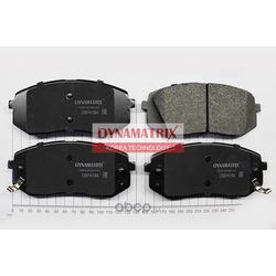 комплект колодок для дисковых тормозов (DYNAMATRIX-KOREA) DBP4194