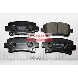 комплект колодок для дисковых тормозов (DYNAMATRIX-KOREA) DBP4209