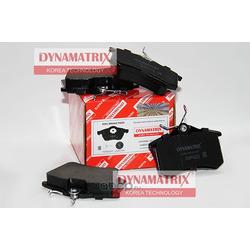 комплект колодок для дисковых тормозов (DYNAMATRIX-KOREA) DBP4222
