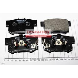 комплект колодок для дисковых тормозов (DYNAMATRIX-KOREA) DBP4227