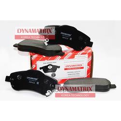 комплект колодок для дисковых тормозов (DYNAMATRIX-KOREA) DBP4228