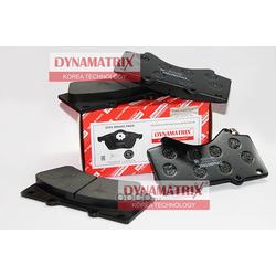 комплект колодок для дисковых тормозов (DYNAMATRIX-KOREA) DBP4229