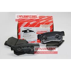 комплект колодок для дисковых тормозов (DYNAMATRIX-KOREA) DBP4247