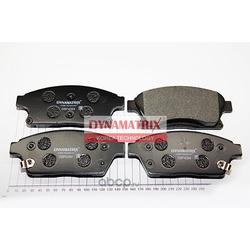 комплект колодок для дисковых тормозов (DYNAMATRIX-KOREA) DBP4264