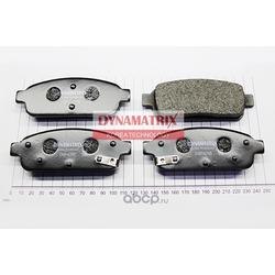 комплект колодок для дисковых тормозов (DYNAMATRIX-KOREA) DBP4265