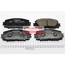 комплект колодок для дисковых тормозов (DYNAMATRIX-KOREA) DBP4310