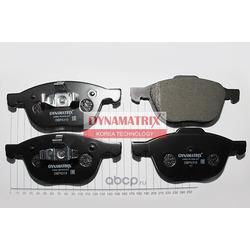 комплект колодок для дисковых тормозов (DYNAMATRIX-KOREA) DBP4319