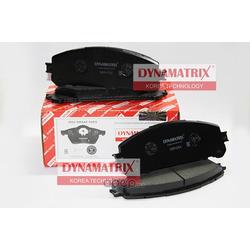 комплект колодок для дисковых тормозов (DYNAMATRIX-KOREA) DBP4354