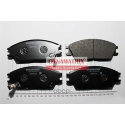 комплект колодок для дисковых тормозов (DYNAMATRIX-KOREA) DBP435