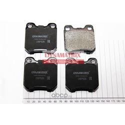 комплект колодок для дисковых тормозов (DYNAMATRIX-KOREA) DBP525