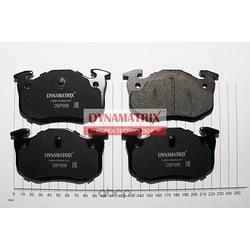 комплект колодок для дисковых тормозов (DYNAMATRIX-KOREA) DBP558