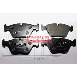 комплект колодок для дисковых тормозов (DYNAMATRIX-KOREA) DBP577