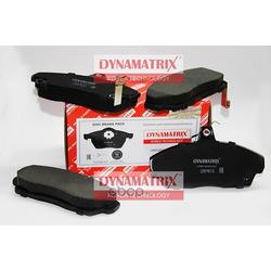 комплект колодок для дисковых тормозов (DYNAMATRIX-KOREA) DBP613