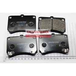 комплект колодок для дисковых тормозов (DYNAMATRIX-KOREA) DBP715