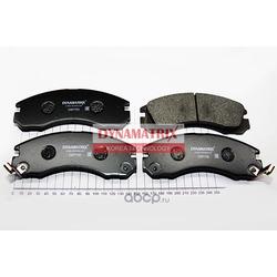 комплект колодок для дисковых тормозов (DYNAMATRIX-KOREA) DBP765
