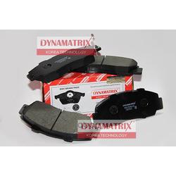 комплект колодок для дисковых тормозов (DYNAMATRIX-KOREA) DBP905