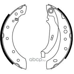 комплект колодок для барабанных тормозов (DYNAMATRIX-KOREA) DBS4012