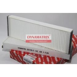 фильтр воздушный салона (DYNAMATRIX-KOREA) DCF239S