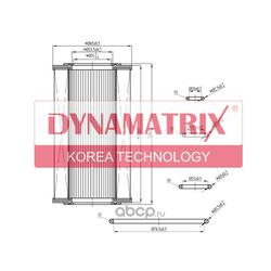 фильтр масляный (DYNAMATRIX-KOREA) DOFX1537D