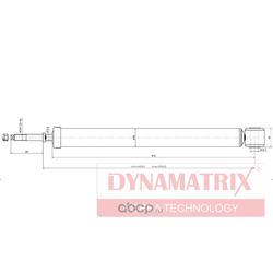 Амортизатор задний (DYNAMATRIX-KOREA) DSA343426