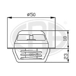 Термостат, охлаждающая жидкость (Era) 350005