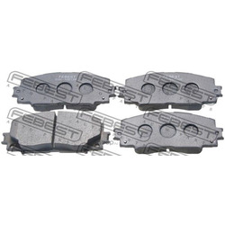 Колодки тормозные передние 0101-NSP130F (Febest) 0101NSP130F