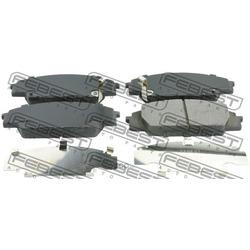 Колодки тормозные, комплект, передние (Febest) 0301FD2F
