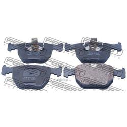 Колодки тормозные передние (Febest) 1901X5F