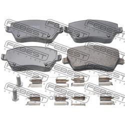 Колодки тормозные передние комплект (Febest) 2401CLIF
