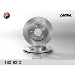 ДИСК ТОРМОЗНОЙ FENOX (FENOX) TB219312
