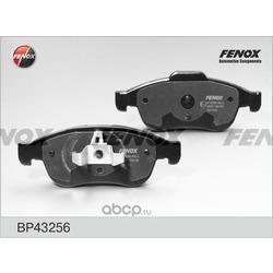 Комплект тормозных колодок, дисковый тормоз (FENOX) BP43256