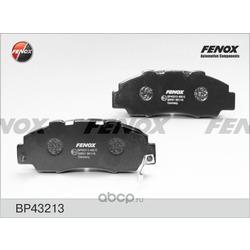Комплект тормозных колодок, дисковый тормоз (FENOX) BP43213