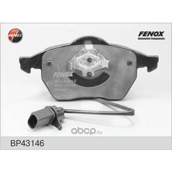 Комплект тормозных колодок, дисковый тормоз (FENOX) BP43146