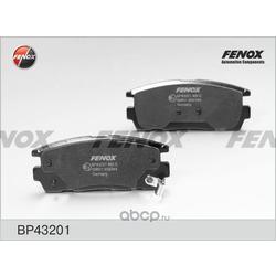 Комплект тормозных колодок, дисковый тормоз (FENOX) BP43201