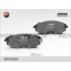 Комплект тормозных колодок, дисковый тормоз (FENOX) BP43202