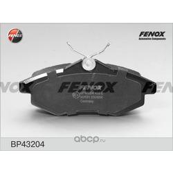 Комплект тормозных колодок, дисковый тормоз (FENOX) BP43204